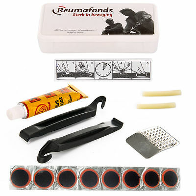 New Bike Bicycle Cycle Tire Tyre Repair Tool Set Kits Patch Rubber
