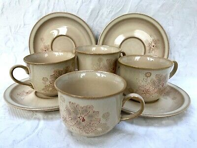 Denby Sandalwood Tea Cup & Saucer Excellent Condition Several Available