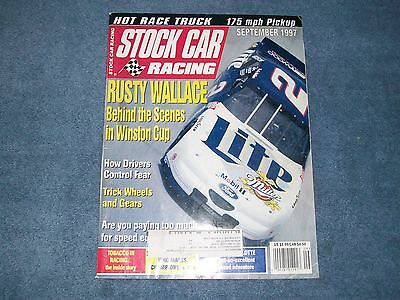 September 1997 Stock Car Racing Magazine Rusty Wallace Behind the Scenes