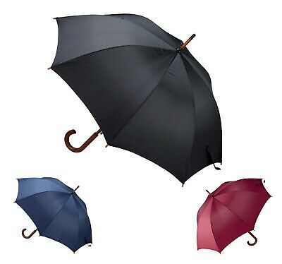 Classic Style Umbrella - wooden grip - Automatic opening Ø106Cm UK and Ireland