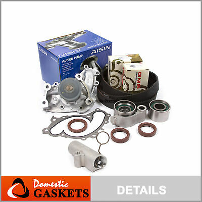 01-10 Toyota 3.0 3.3L Timing Belt AISIN Water Pump GMB Tensioner Kit 1MZFE 3MZFE