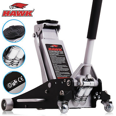 Hawk 2.5 Ton Trolley Jack Low Profile Hydraulic Garage Workshop Floor