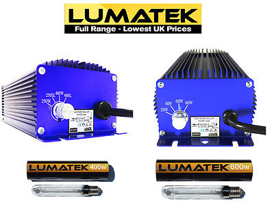 Lumatek Digital Ballasts 250w, 400w, 600w & 1000w & Ultimate Pro 400v