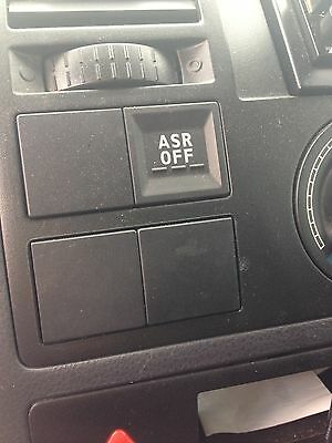 VW T5 TRANSPORTER dash switch blank OEM