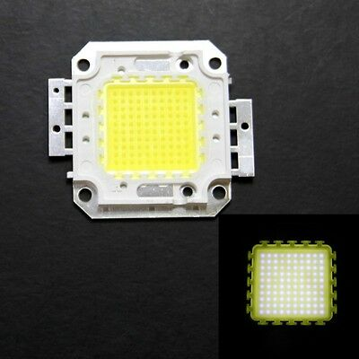 100W Cool WHITE LED Lamp 5500-6000K 9500LM Bright Light High Power