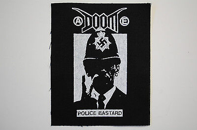 Doom Back Patch (BP21) Crust Punk Rock Infest Dystopia Backpatch Filth Dirt
