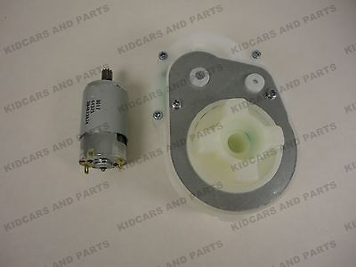 Peg Perego Gearbox And Motor Assembly  Fits The Gator Or Polaris 700 ***New