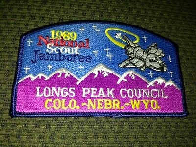 MINT 1989 JSP Longs Peak Council Blue Border