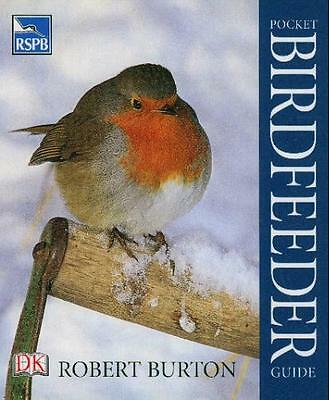 New RSPB Pocket Birdfeeder Guide Bird Feeding Book 96 Pages Paperback Handbook