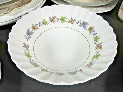 "J & G Meakin Woodland 6-1/2"" Coupe Cereal Bowl"