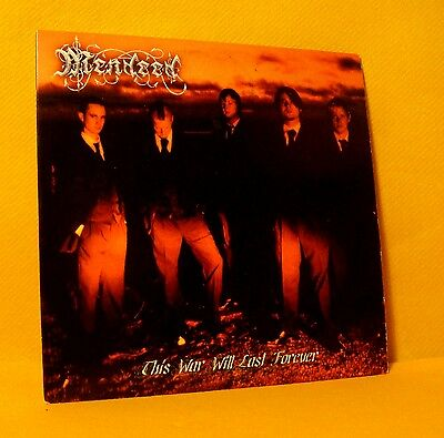 Cardsleeve Full CD MENDEED This War Will Last Forever PROMO 12TR '06 heavy metal