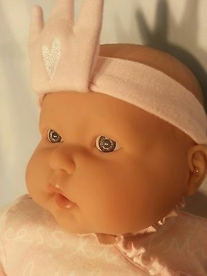 "20"" Little Princess BABY GIRL REBORN Newborn BERENGUER Original Outfit"