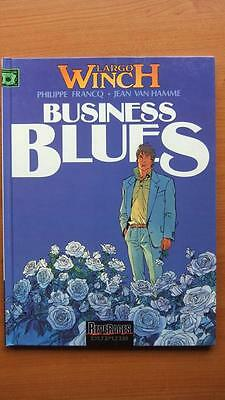 Largo Winch T. 4 : Business Blues - E.o. -1993- Francq - J. Van Hamme  - Dupuis