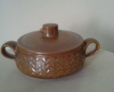 VINTAGE HALL POTTERY Bird Nest Soup or chilli covered bowl