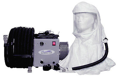 Breathecool II Supplied Air Respirator System w/tyvek hood