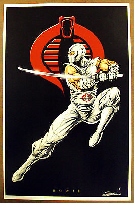 Storm Shadow Leaping To The Attack Limited Edition Lithograph Print - Signed