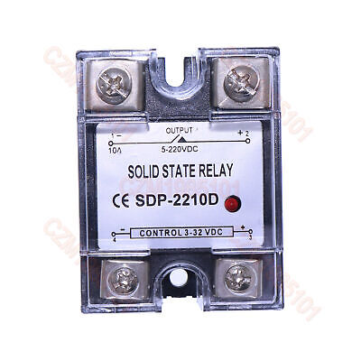 Solid State Relay SSR DC-DC 10A 3-32VDC/5-220VDC 10A Replace Crydom D1D12/D2D12