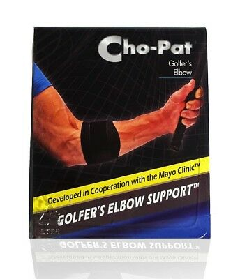 Cho-Pat Golfer's Elbow Splint Arm Strap Forearm Compression Support Pain Relief