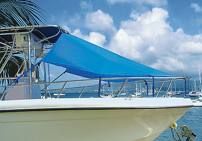 "Center Console T-Top Boat BOW SUN SHADE 7'L X 102""W Made in USA"