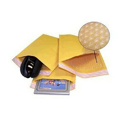 """500 #0 6x10 """" Valuemailers Brand """" Kraft Bubble Mailers Padded Envelopes Bags"""