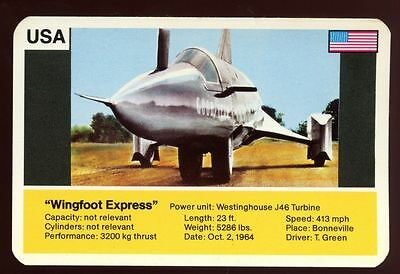 Wingfoot Express - World Record Holder - Top Trumps Card #AQ