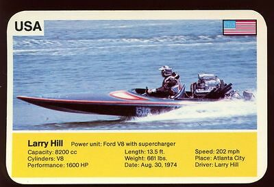 Larry Hill - World Record Holder - Top Trumps Card #AQ