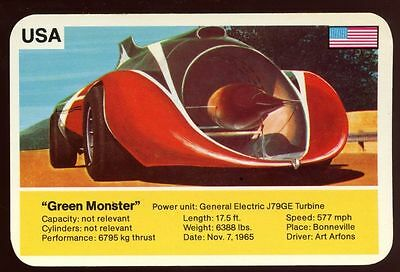 Green Monster - World Record Holder - Top Trumps Card #AQ