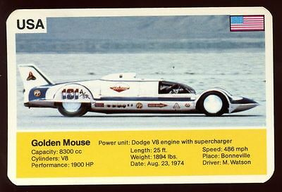Golden Mouse - World Record Holder - Top Trumps Card #AQ