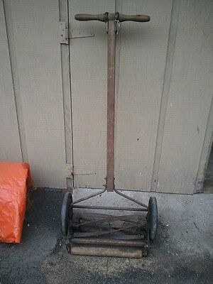 Antique Push Lawn Mower Rotary