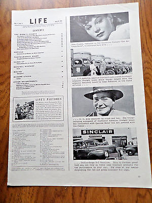 1941 Sinclair Opaline Motor Oil Ad  Lot of 6 Ads