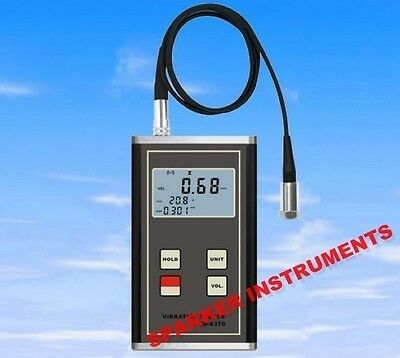 VM-6370 Digital Vibration Meter Imbalance and Deflecting Tester Vibrometer