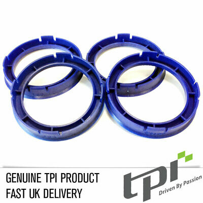 TPI Alloy Wheel Hub Rings Spigot Location Spacers 63.3 - 56.6