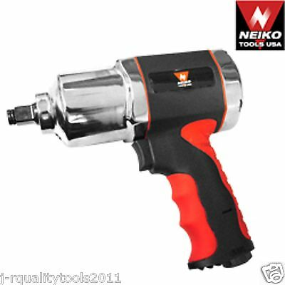 """1/2"""" Composite Air Impact Wrench Working torque 600ft/lb Twin Hammer"""