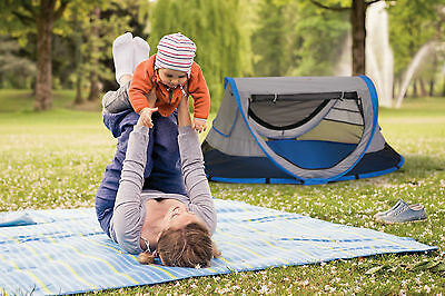 KidCo PeaPod Plus Travel Bed W/ Carry Bag Lightweight & Portable P4011 Twilight
