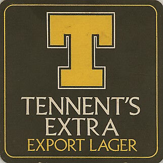 Coaster: Tennent's Export Lager