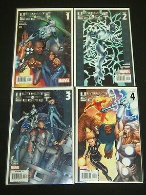 Ultimate Secret 1-4; VF/NM; Complete series-Free Shipping! Warren Ellis scripts