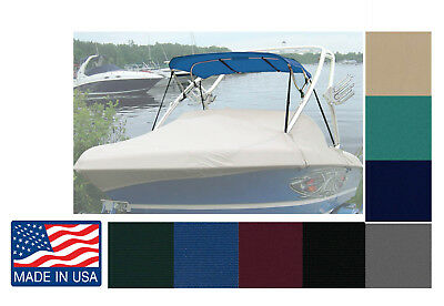 "Complete Wakeboard TOWER Boats BIMINI TOP 4'L X 81""-84""W Made in USA"