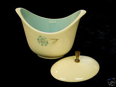 Vintage Sugar Bowl and Lid, Taylor Smith & Taylor china, Ever Yours Boutonniere
