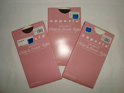 Children's Capezio Hold & Stretch Tights FOOTED dance many colors and sizes