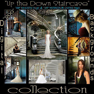 Digital Backdrops Photography Backgrounds A Best Seller Stair Case Collection 1L