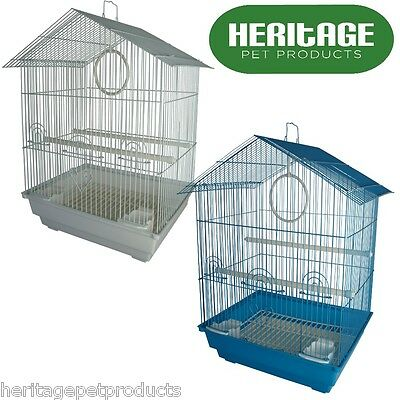 HERITAGE CAGES ALBANY SMALL BIRD CAGE 34x28x49CM FINCH BUDGIE CANARY PET HOME