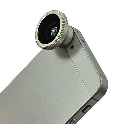 New Magnetic Wide 180°Detachable Fish Eye Lens for Apple iPhone5/4S/3G/3GS/Phone