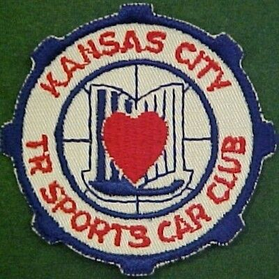 Kansas City Triumph Sports Car Club Patch