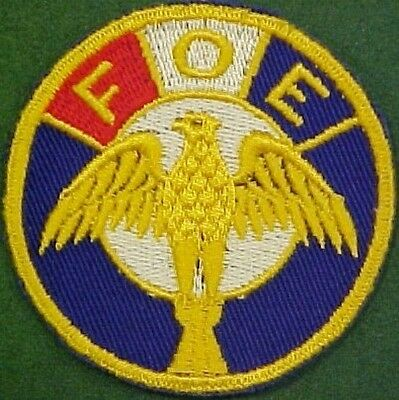 Fraternal Order of Eagles Patch