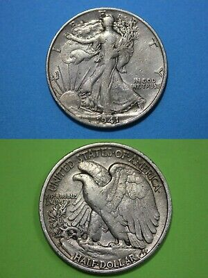 MAKE OFFER $1.00 Face Value 90% Silver Walking Liberty Half Dollars Junk Coins