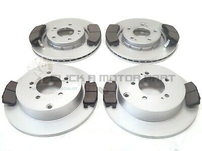 PEUGEOT 4007 2.2 HDi 2007-2012 FRONT AND REAR BRAKE DISCS & PADS SET NEW