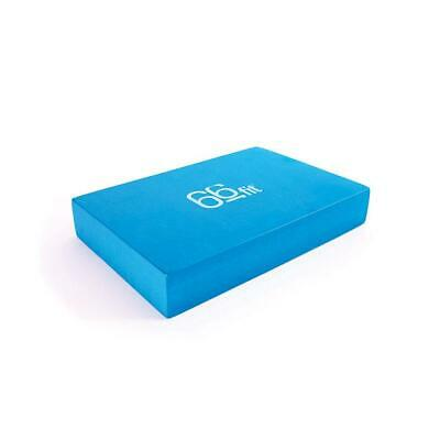 66fit Yoga Block - EVA Foam Brick Practice Home Pilates Exercise Fitness Props