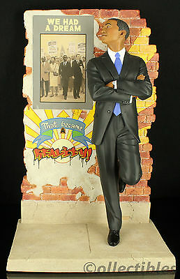 """THOMAS BLACKSHEAR """"OBAMA A DREAM BECOME REALITY""""  FIRST ISSUE LIMITED ED !!!!!!"""
