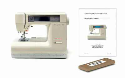 Janome Memory Craft 8000 LCD Back Light  New Home MC8000 Backlight