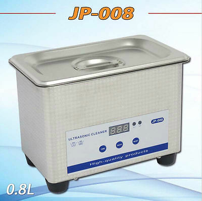 Ultrasonic Cleaner 700ml Ring Bath Digital Timer Industrial Cleaning Equipment